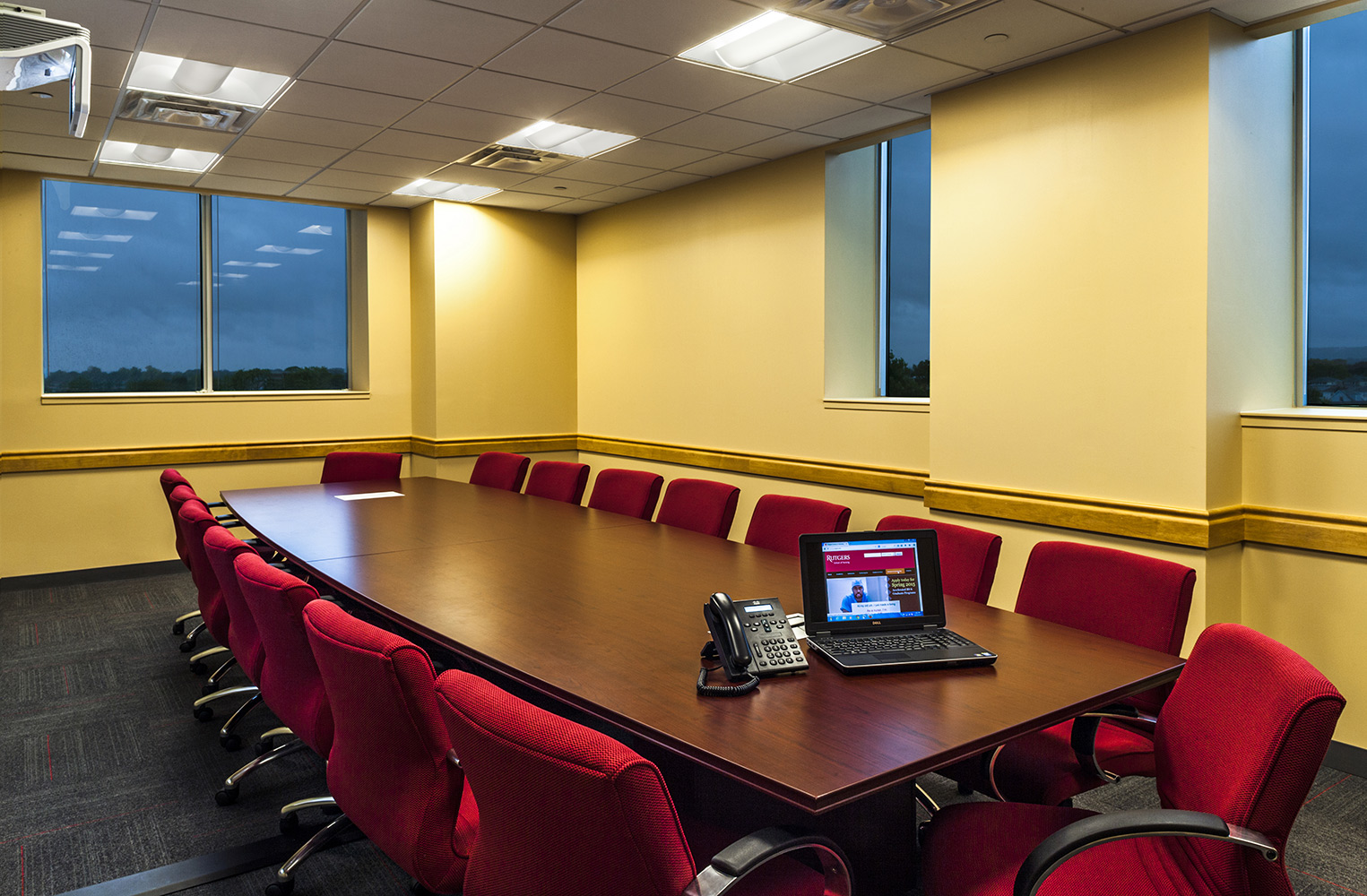 Rutgers School of Nursing for Turner Construction USA Architects FORBO Flooring Systems NA
