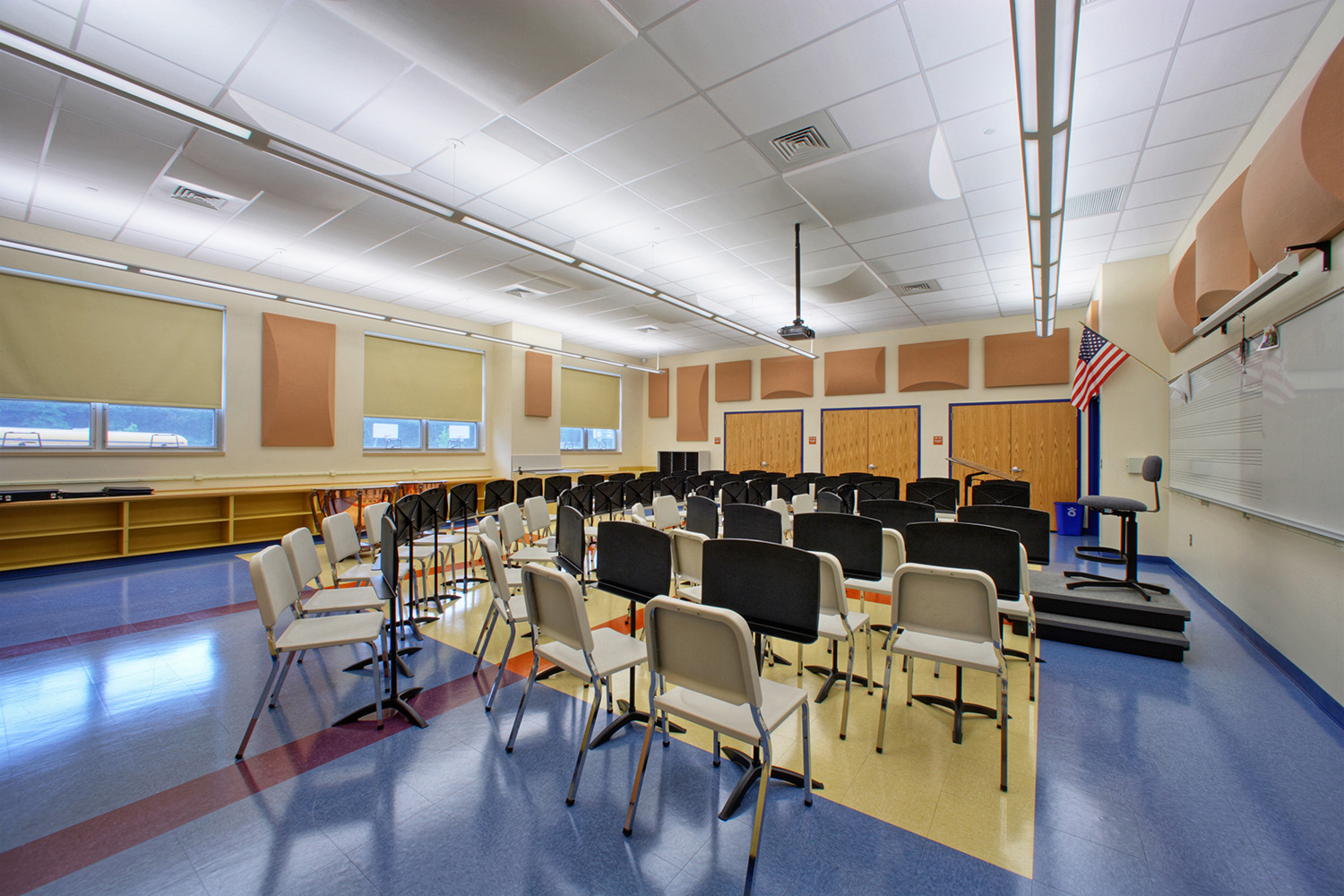Wayne Valley Middle School for Feitlowitz & Kosten Architects
