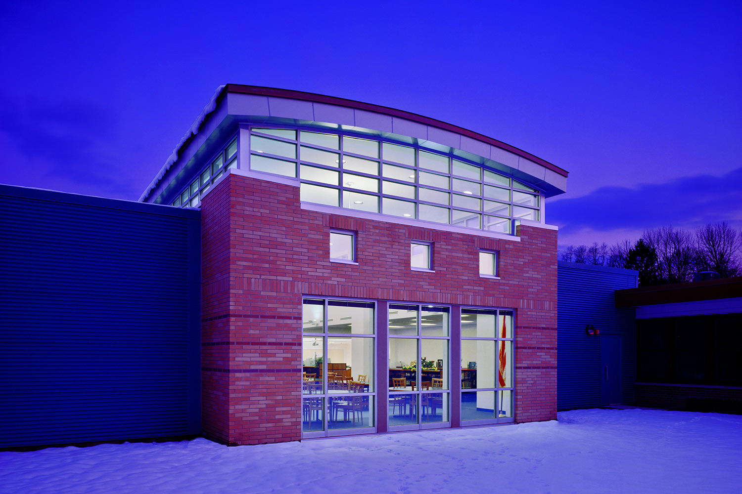 Cedar Grove Memorial Middle School for DiCara Rubino Architects