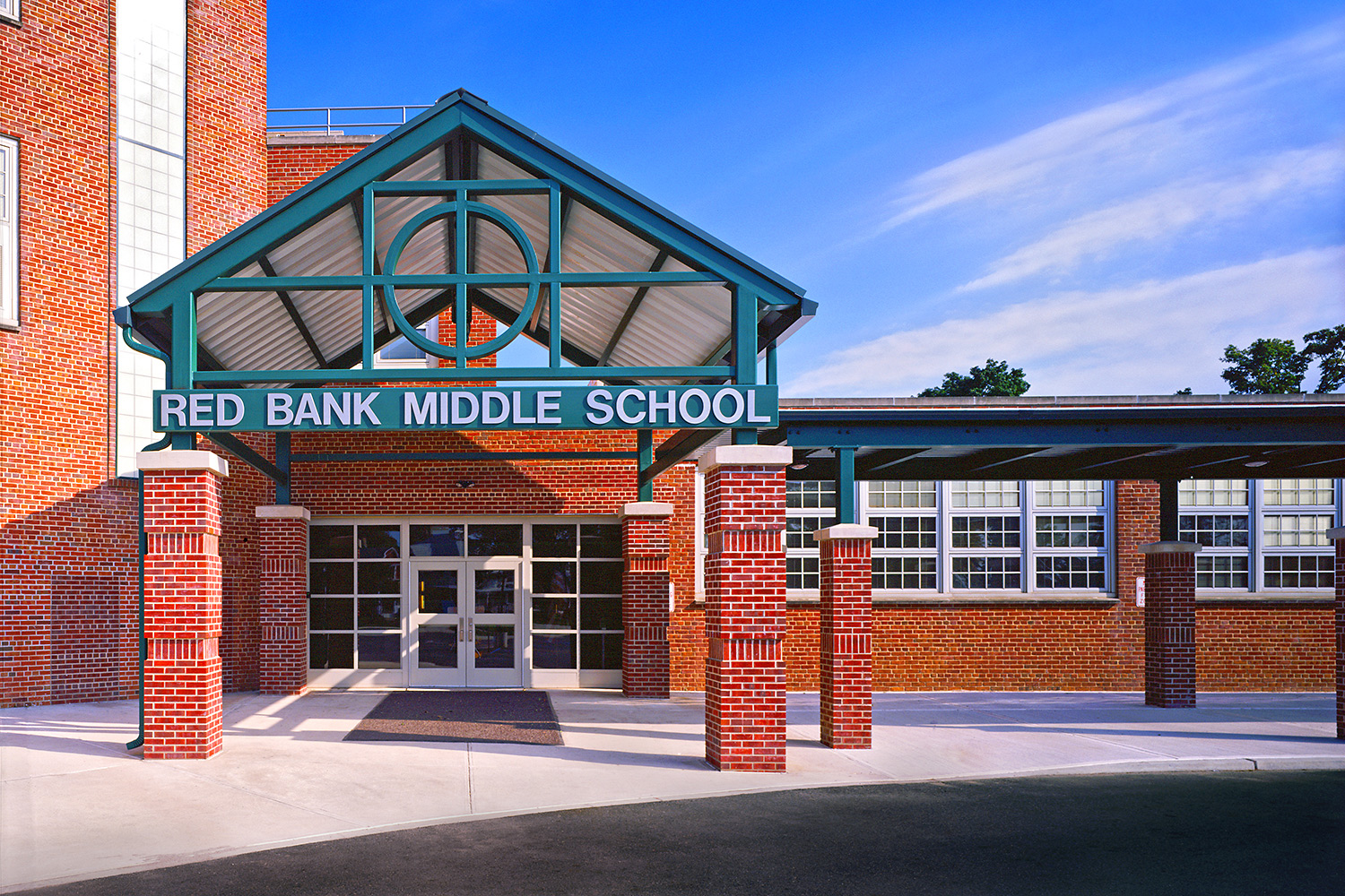 Red Bank Middle School for USA Architects