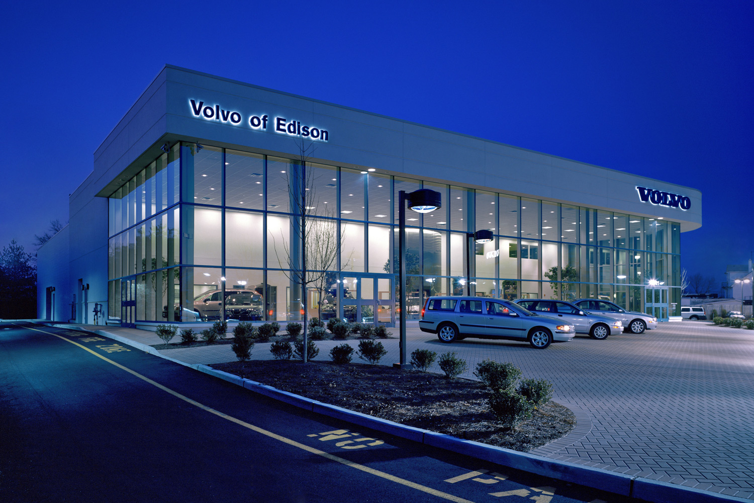 Volvo of Edison for Montalto Massa Architects
