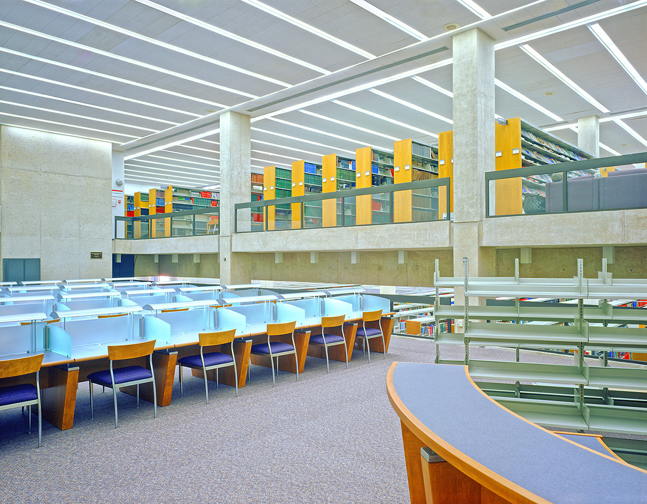 UMDNJ-Newark George F. Smith Library for USA Architects